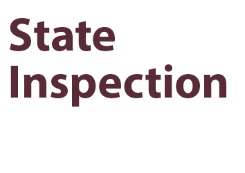 State Inspection and Maintenance